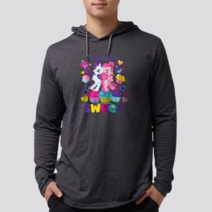 MLP Friendship is Sweet Dark Mens Hooded Shirt