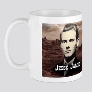Jesse James Historical Mugs