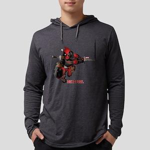 Deadpool Slash Mens Hooded Shirt