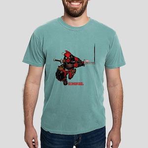 Deadpool Slash Mens Comfort Colors Shirt