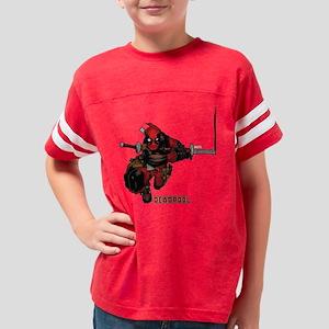 Deadpool Slash Youth Football Shirt