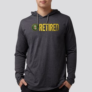 U.S. Army: Retired Mens Hooded Shirt