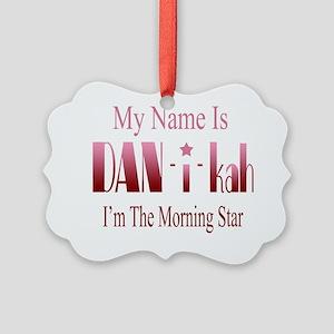 Danica Picture Ornament