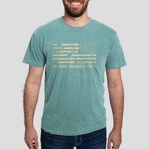 USS George Washington Mens Comfort Colors Shirt