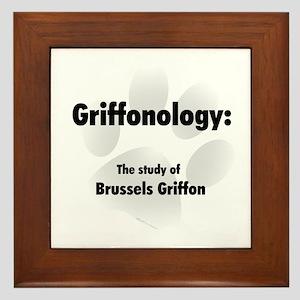 Griffonology Framed Tile