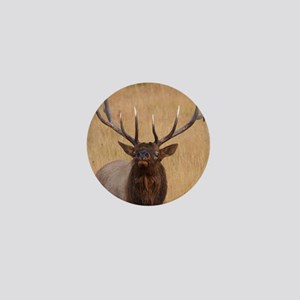 bull elk Mini Button