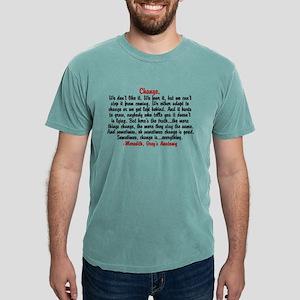 changegreysquote Mens Comfort Colors Shirt