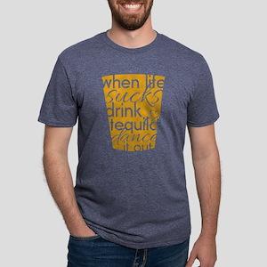 Dance It Out Mens Tri-blend T-Shirt