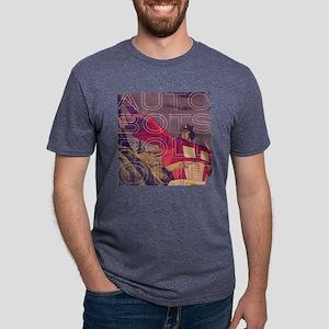 Transformers Vintage Roll O Mens Tri-blend T-Shirt