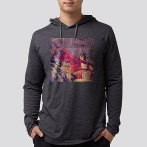 Transformers Vintage Roll Out Mens Hooded Shirt