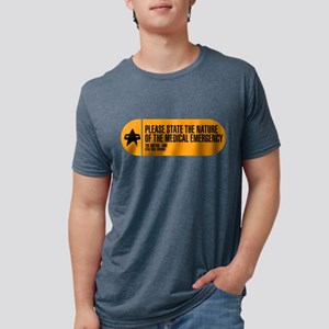 Please State the Nature of  Mens Tri-blend T-Shirt