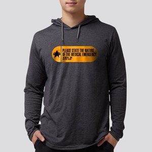 Please State the Nature of the M Mens Hooded Shirt