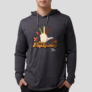 HIMYM Happy Slapsgiving Dark Mens Hooded Shirt