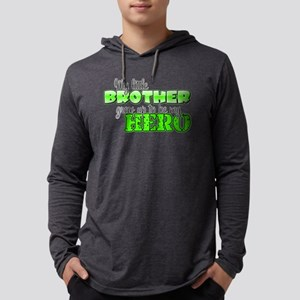 brotherhero2 Mens Hooded Shirt