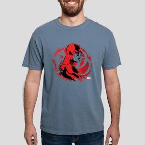 Daredevil Splatter Backg Mens Comfort Colors Shirt
