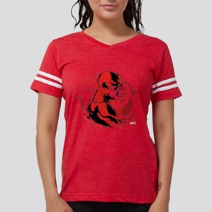 Daredevil Splatter Backgroun Womens Football Shirt