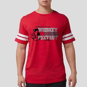 Whiskey Tango Foxtrot - Aviati Mens Football Shirt