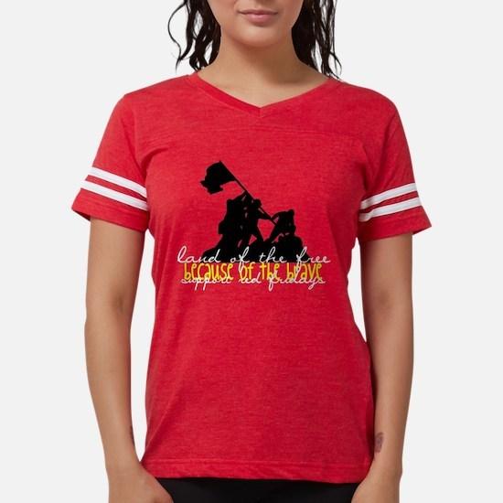 land of the free Womens Football Shirt