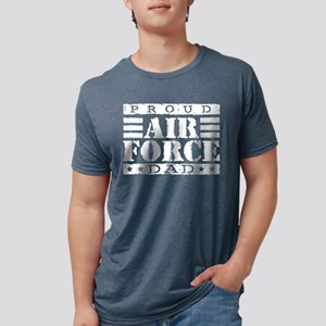 airforcedadx Mens Tri-blend T-Shirt