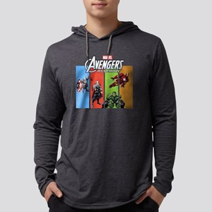 Avengers Assemble Mens Hooded Shirt