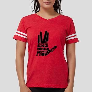 live long and prosper Womens Football Shirt
