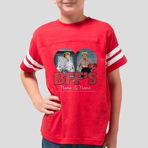BFFs Personalized Dark Youth Football Shirt