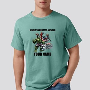 Worlds Youngest Avengers Mens Comfort Colors Shirt
