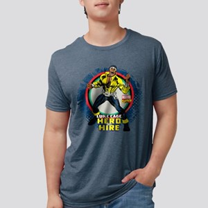 Luke Cage Classic Grunge Mens Tri-blend T-Shirt