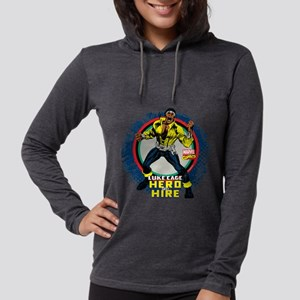 Luke Cage Classic Grunge Womens Hooded Shirt