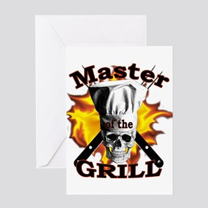 Grillmaster Greeting Cards