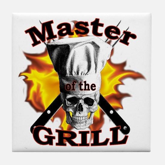 Grillmaster Tile Coaster