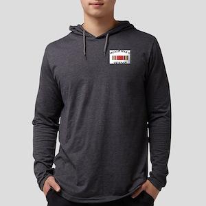 vet-world Mens Hooded Shirt