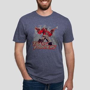 Transformers Comic Book Mens Tri-blend T-Shirt