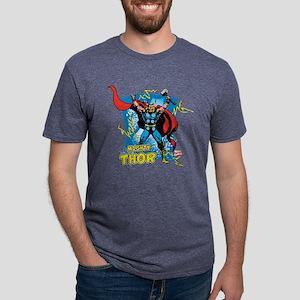 Mighty Thor Mens Tri-blend T-Shirt