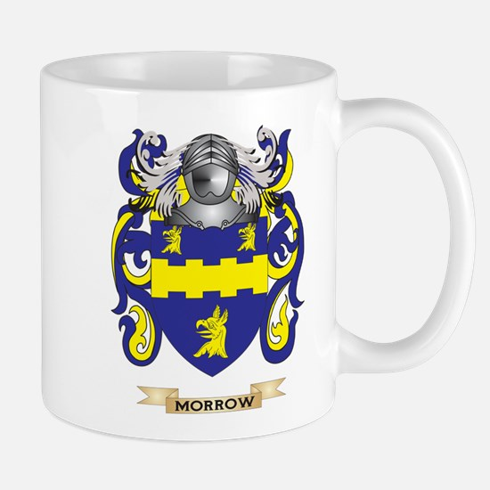 Morrow Coat of Arms - Family Crest Mugs
