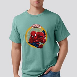 Spiderman Mens Comfort Colors Shirt