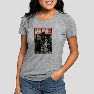 Luke Cage Marvel Womens Tri-blend T-Shirt