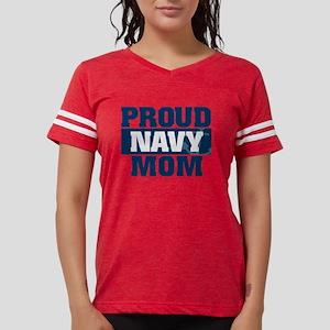 US Navy Proud Navy Mom Womens Football Shirt