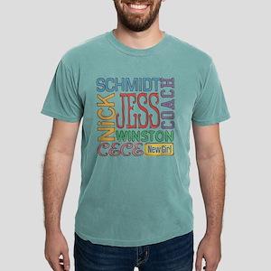New Girl Names Light Mens Comfort Colors Shirt