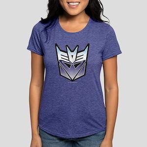 Transformers Decepticon S Womens Tri-blend T-Shirt