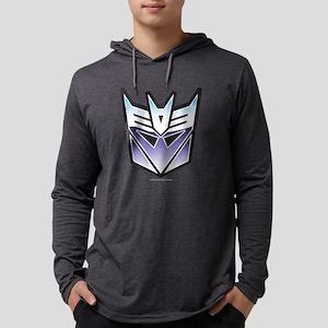 Transformers Decepticon Symbol D Mens Hooded Shirt
