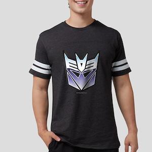 Transformers Decepticon Symbol Mens Football Shirt
