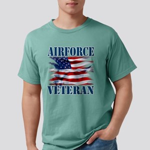 Airforce Veteran copy Mens Comfort Colors Shirt