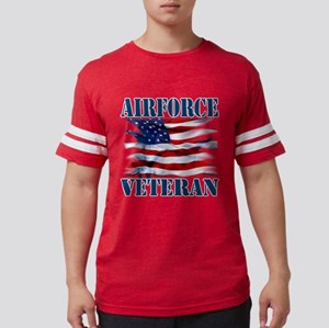 Airforce Veteran copy Mens Football Shirt