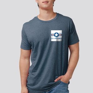 roundel_air_force_square Mens Tri-blend T-Shirt