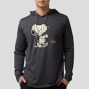 SnoopyMummy-Dark Mens Hooded Shirt