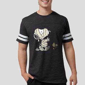 SnoopyMummy-Dark Mens Football Shirt