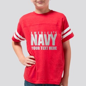 Personalized America's Na Youth Football Shirt