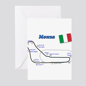 Race Circuits Greeting Cards