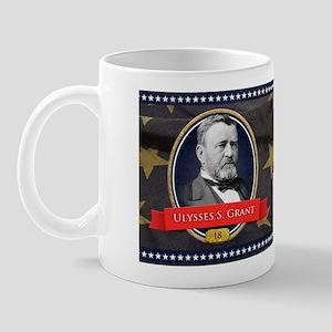 Ulysses S. Grant Historical Mugs